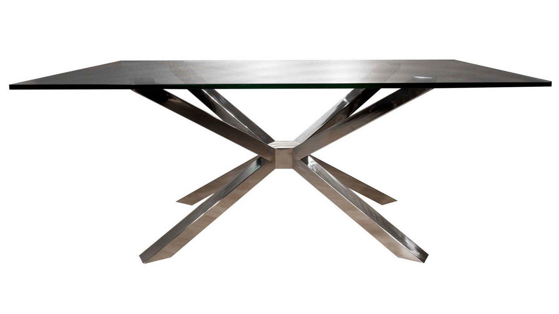 Modern Cointet Rectangle Dining Table Base Stainless  : moderncointetrectanglediningtablebasestainlesssteel from www.zurifurniture.com size 1778 x 1000 jpeg 78kB