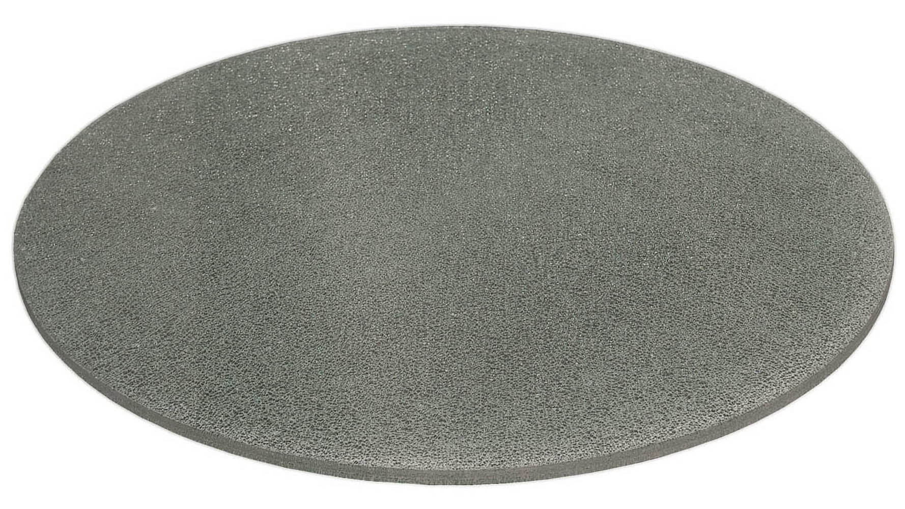 Crackled 48 round dining table top zuri furniture for Cracked glass dining table