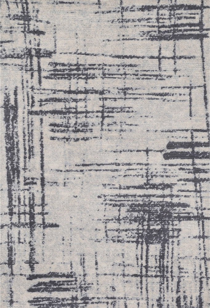 Crosshatch Graphic Rug