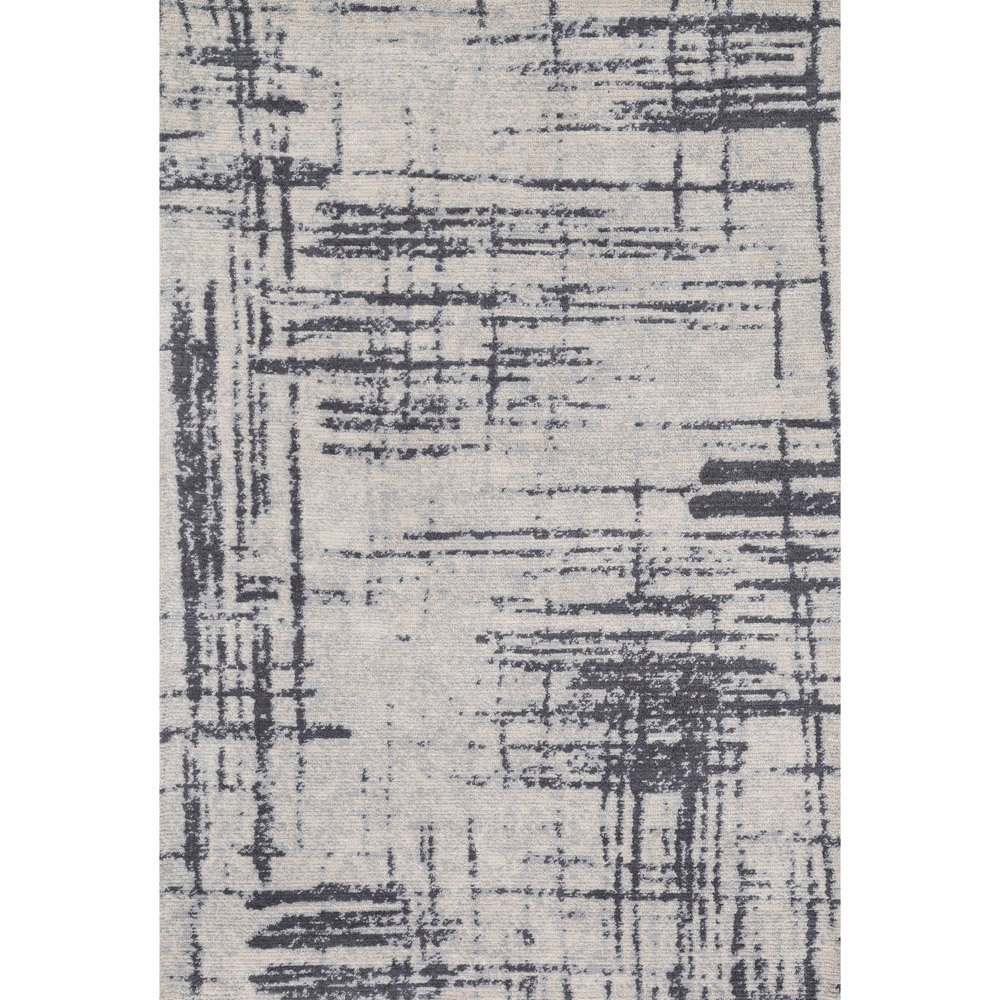 Crosshatch Graphic Rug