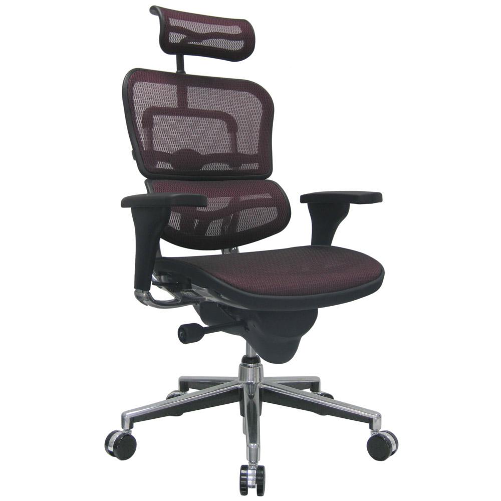 chair with headrest. ergo human mesh swivel chair with headrest california