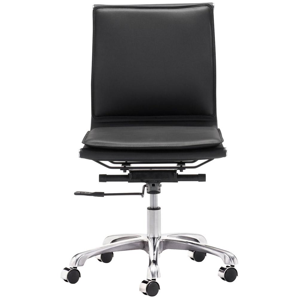 Gustavo Armless Office Chair | Zuri Furniture