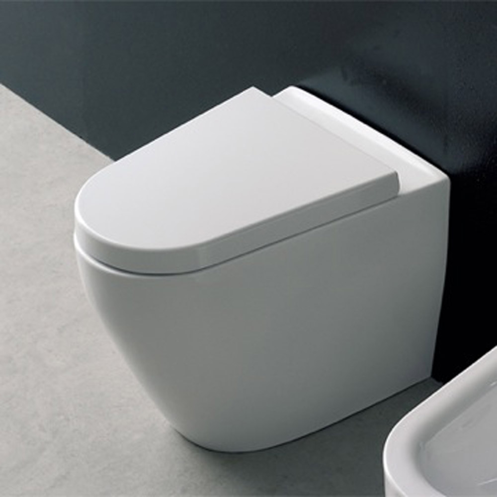Modern Floor Standing White Ceramic Tizi Toilet Zuri