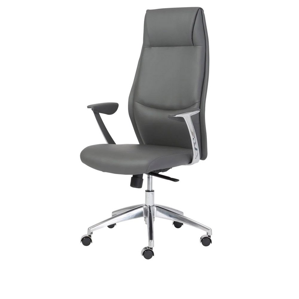 Office chair back view - Francis High Back Office Chair