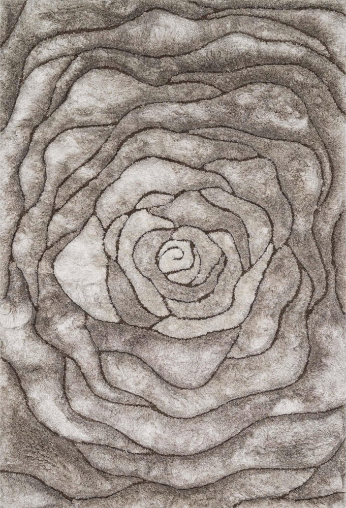 Galaxy Rose Shag Rug