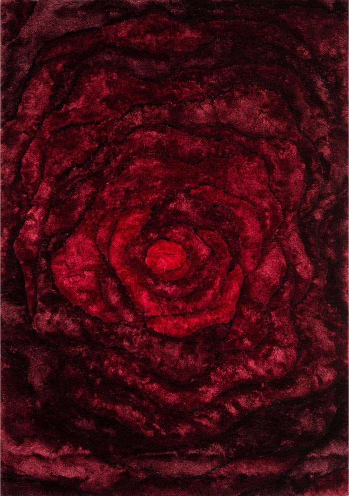 Galaxy Rose Shag Rug Zuri Furniture