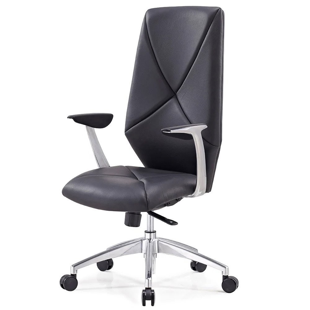 contemporary leather high office chair black. modern leather executive office chairs unique contemporary and task zuri furniture high chair black e