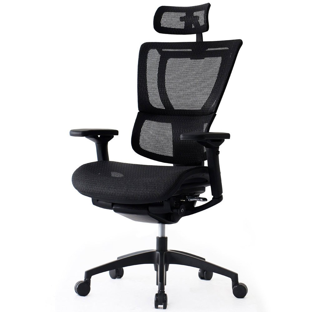 Ioo Mesh Swivel Chair With Headrest Zuri Furniture