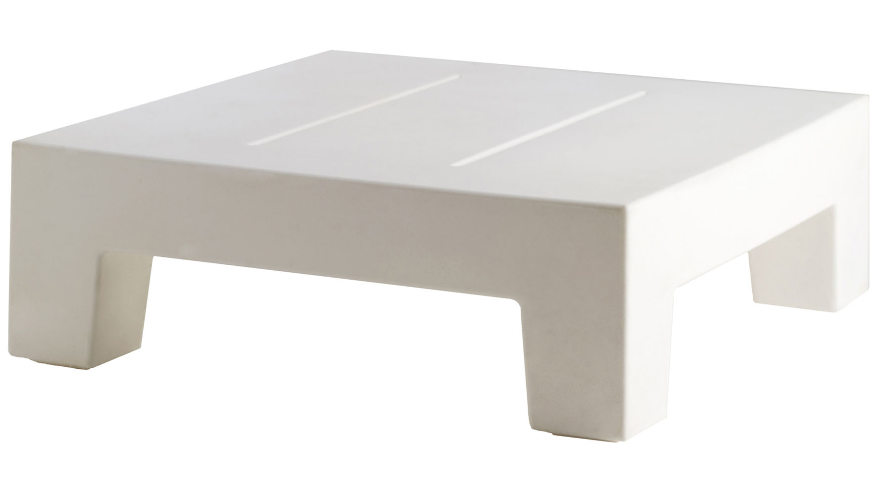 Modern jut lacquered sun chaise table zuri furniture for Table chaise moderne