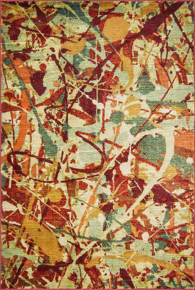 Laleh Painted Rhythm Rug