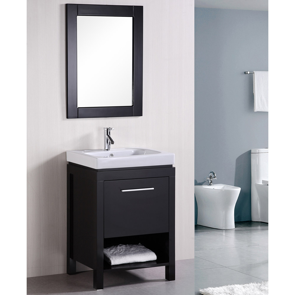 Marly 24 Single Sink Vanity Set Zuri Furniture