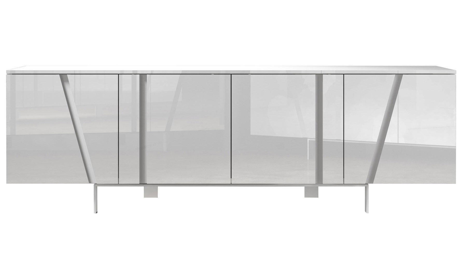 Modern Dark Wood Credenza : Marten sideboard zuri furniture