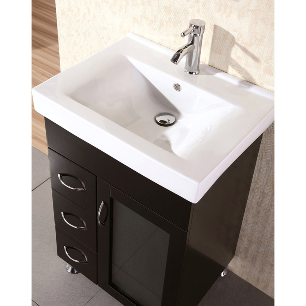 Martina 24 Quot Single Sink Vanity Set Zuri Furniture