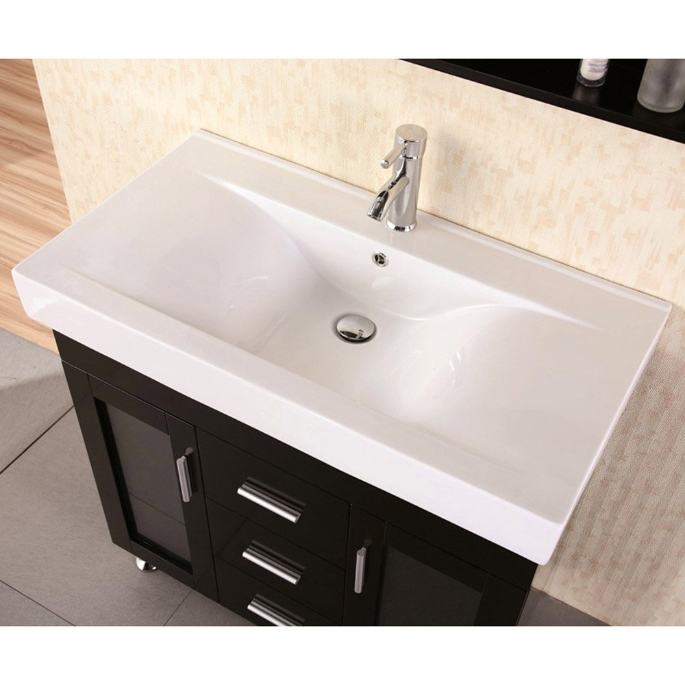 Martina 36 Single Sink Vanity Set Zuri Furniture