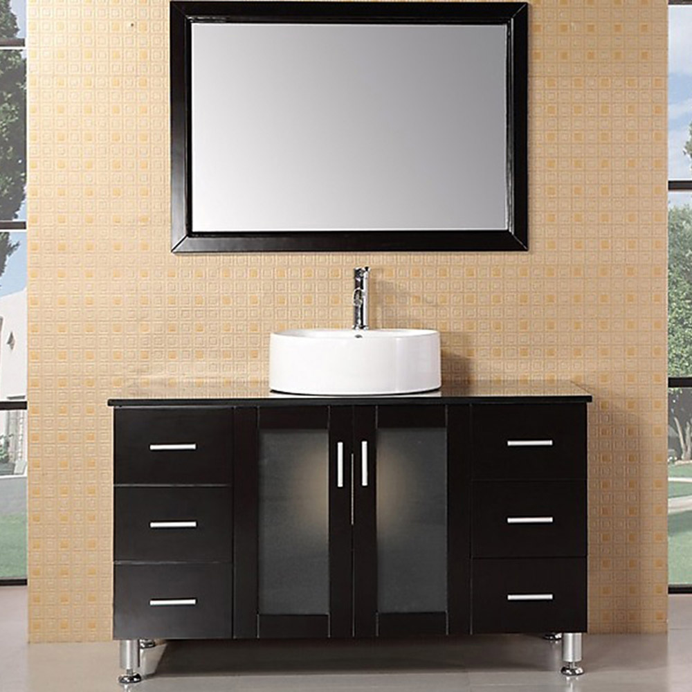 home bath bathroom vanities maya 48 single sink vanity set