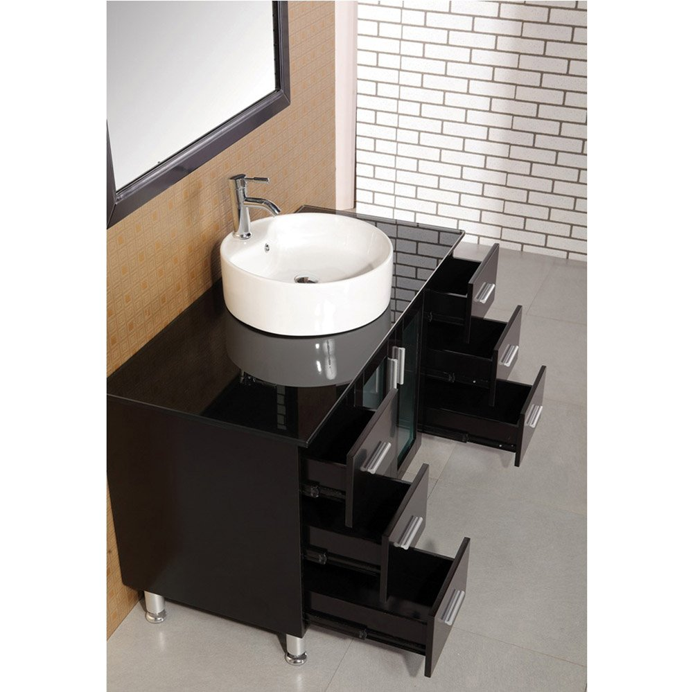 Maya 48 Single Sink Vanity Set Zuri Furniture