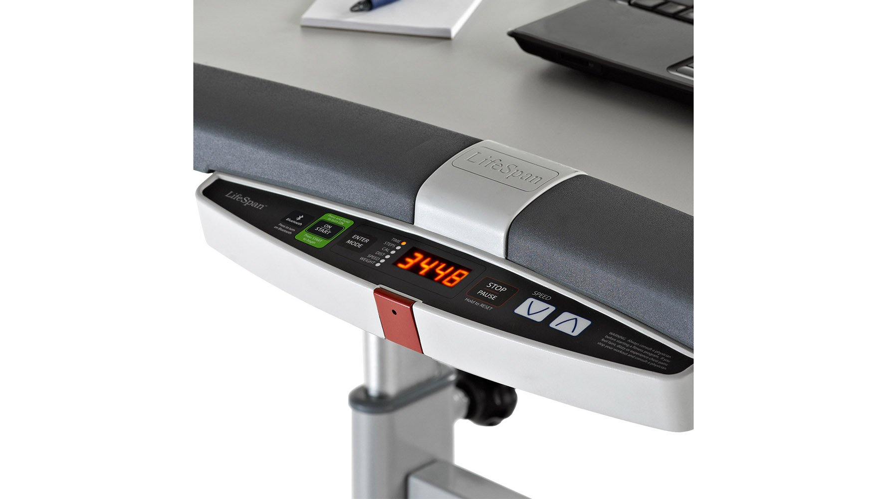 Modern Office LifeSpan Light Use Treadmill with Manual Desk with