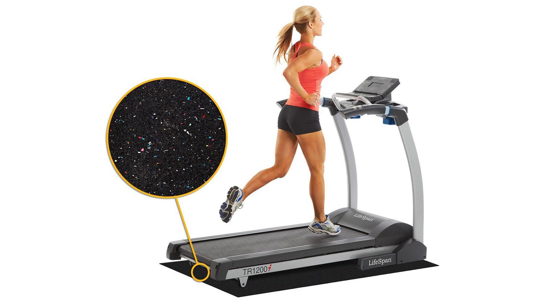 modern office lifespan nike protective treadmill mat | zuri furniture