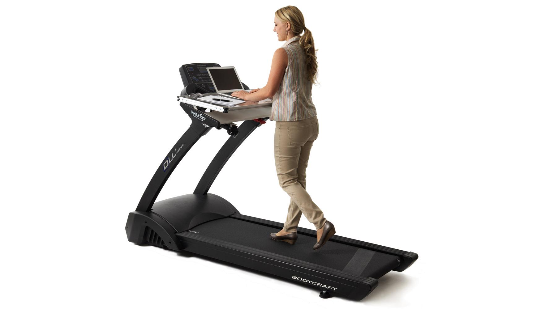 WalkTop Treadmill Desk With Quick Release