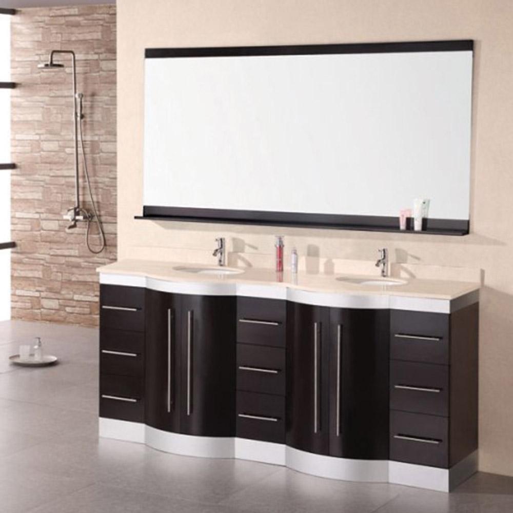 Olivia 72 Double Sink Vanity Set Zuri Furniture