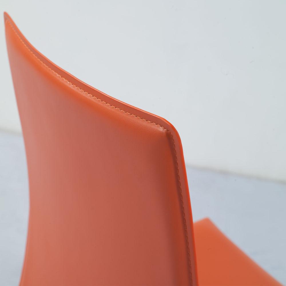 Groovy Noah Dining Chair Orange Camellatalisay Diy Chair Ideas Camellatalisaycom