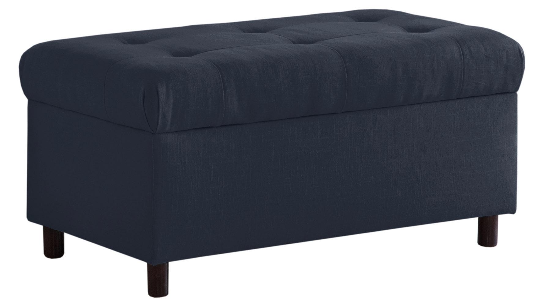 Reanna Tufted Storage Bench Zuri Furniture