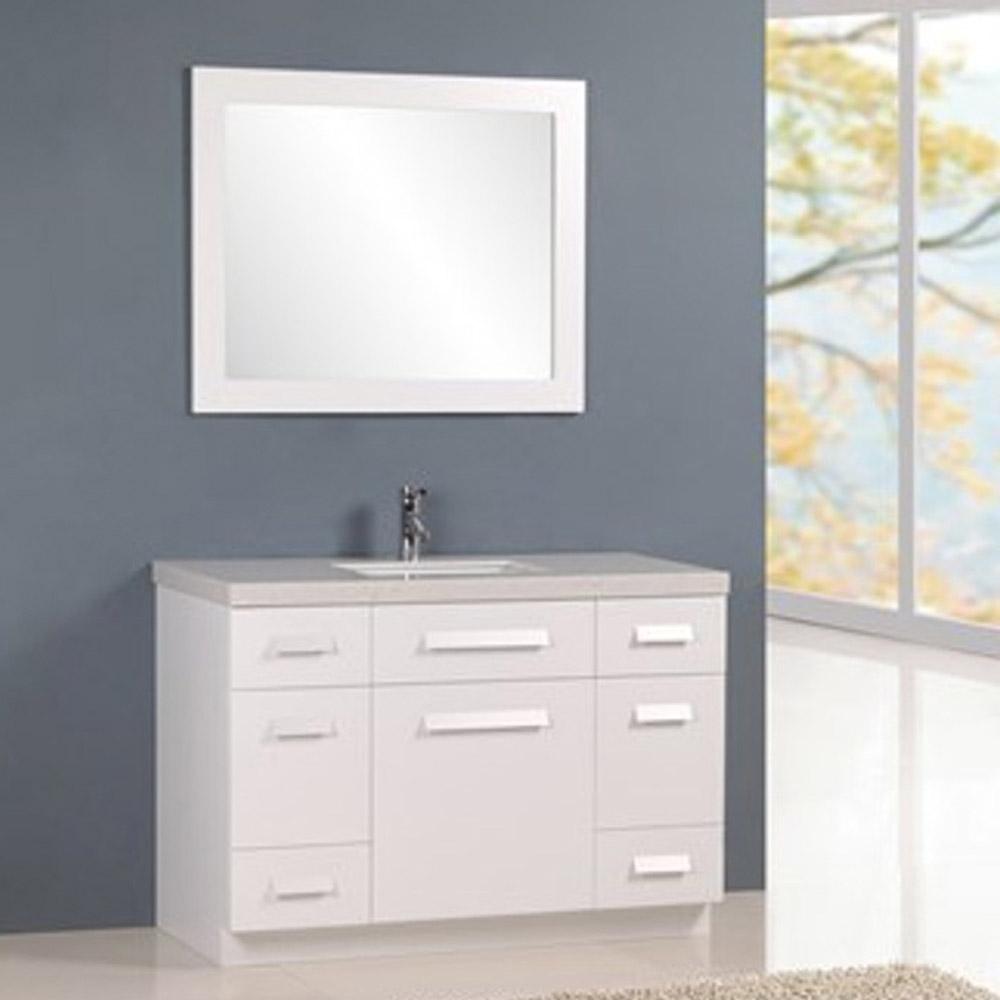 Rissa 48 Quot Single Sink Vanity Set Zuri Furniture