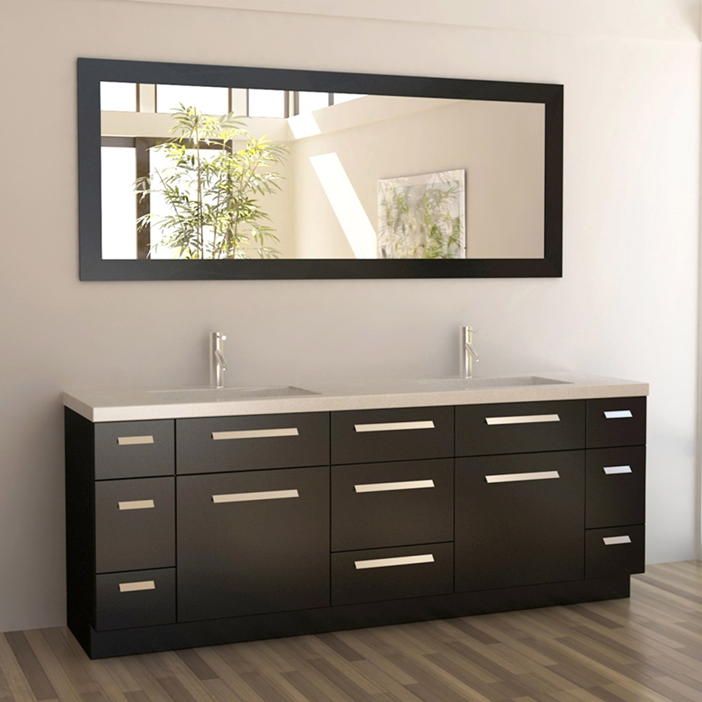 Rissa 84 Quot Double Sink Vanity Set Zuri Furniture