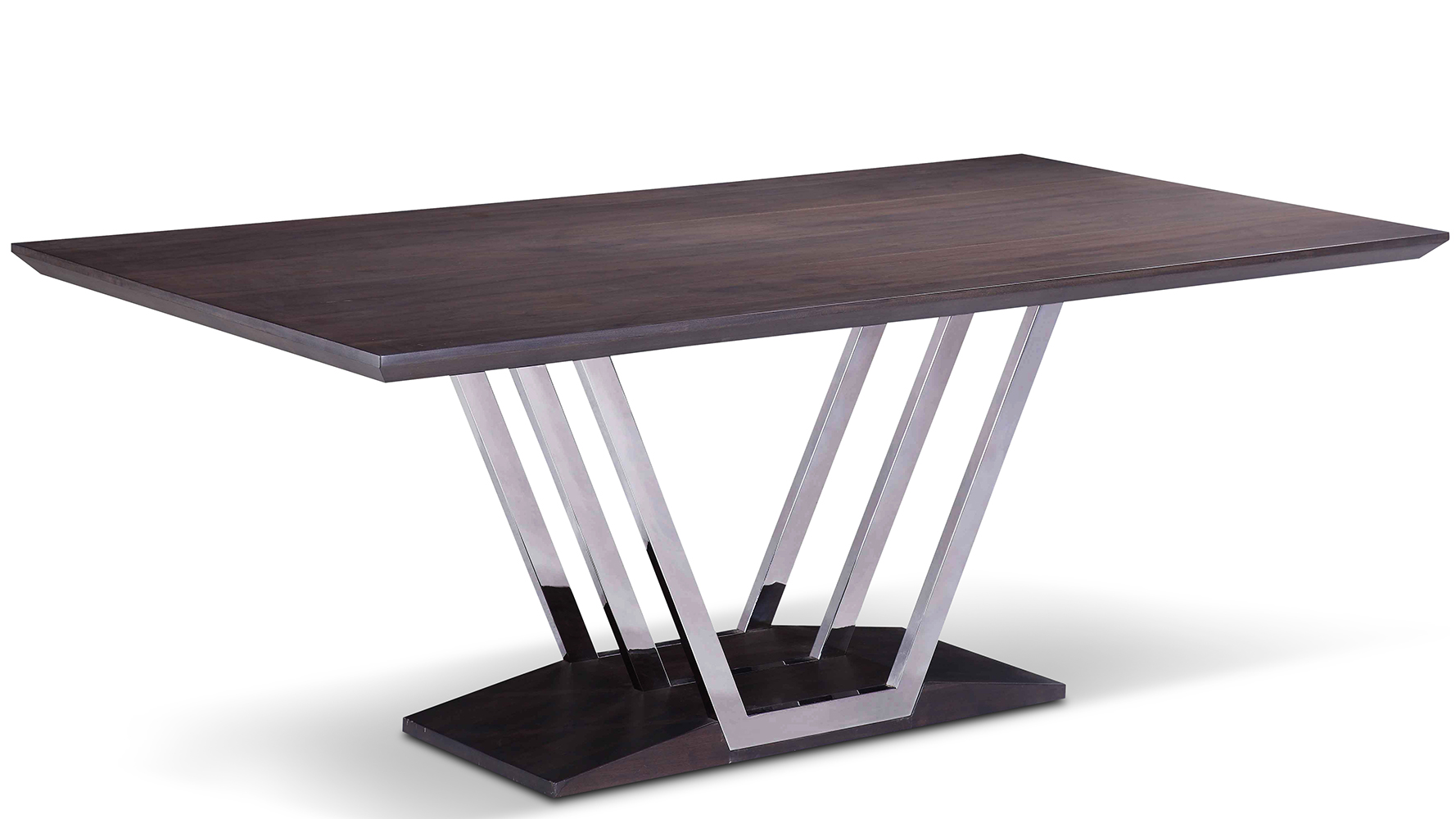 Stainless steel dining table - Roman Dining Table