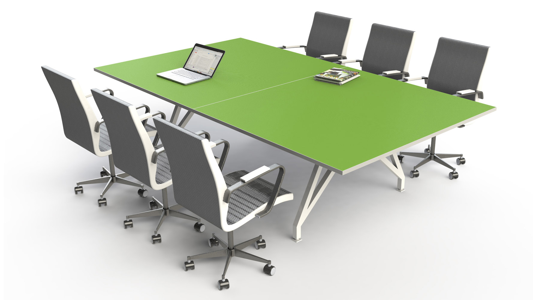 scale  eyhov sport conference table  zuri furniture - eyhov sport conference table