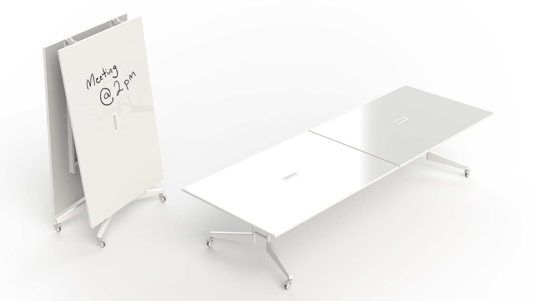 Scale 1 1 Nomad Folding Conference Table Zuri Furniture