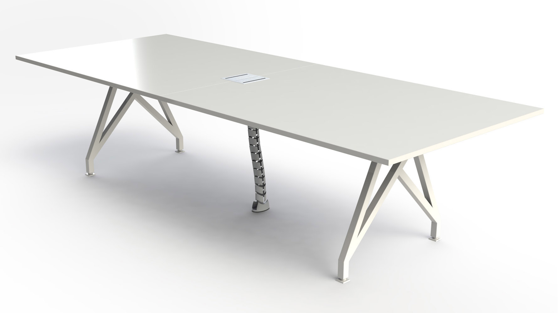 THINK TANK Conference Table Ft Zuri Furniture - Contemporary modern conference table