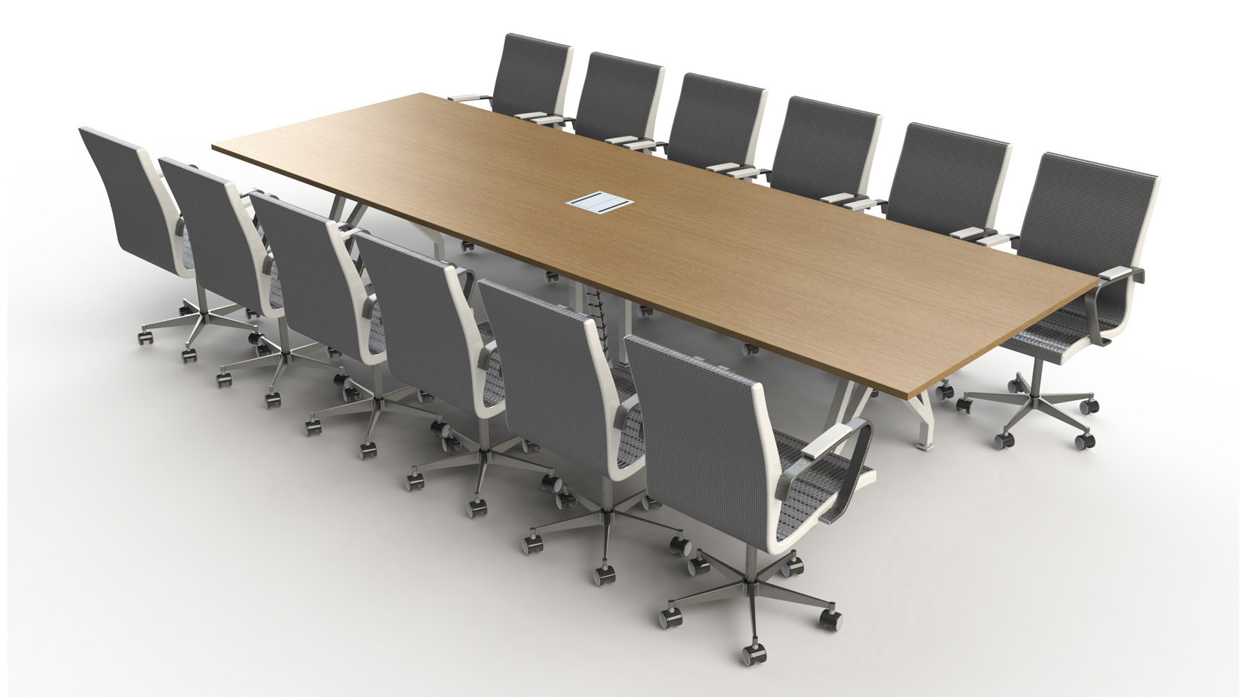 Think tank conference table 14ft zuri furniture for 12 conference table
