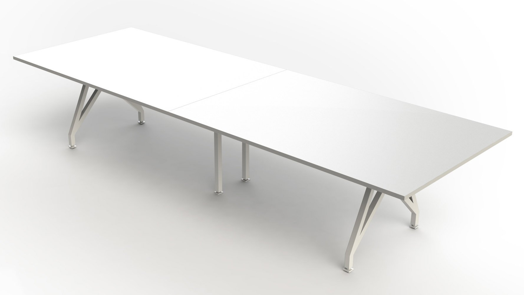 THINK TANK Conference Table Ft Zuri Furniture - 14 ft conference table