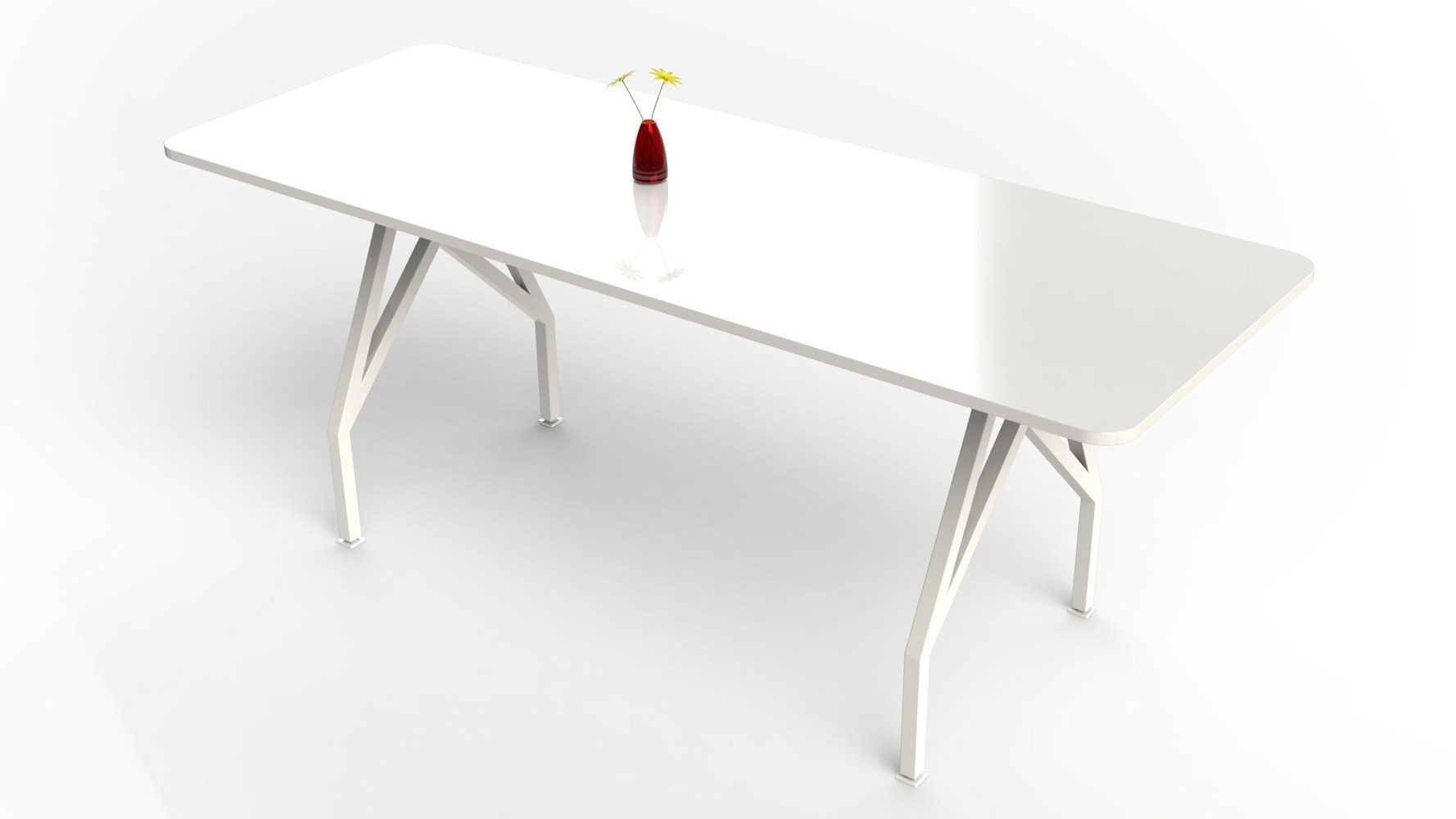 HOT SPOT Bar Height Table