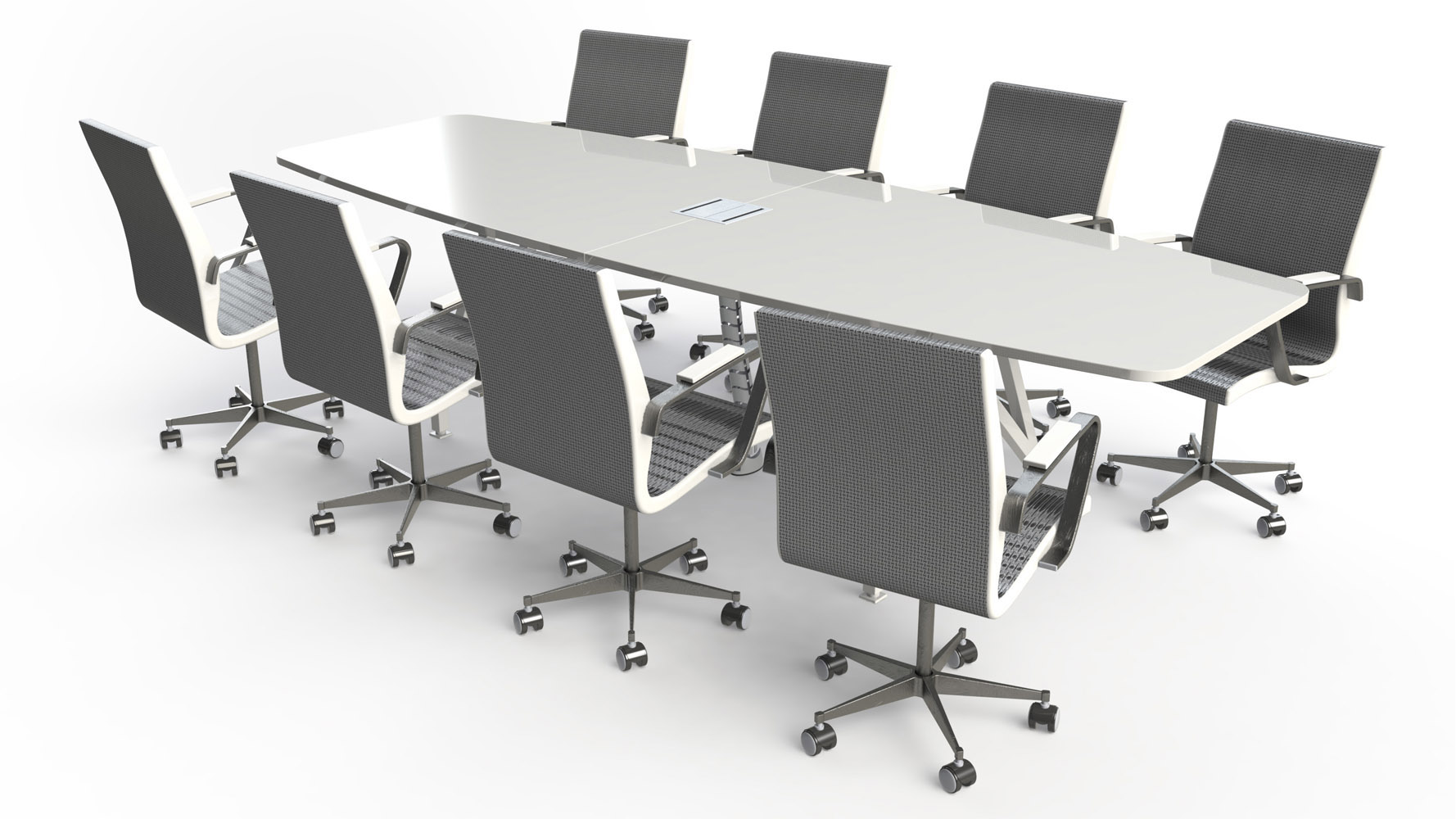 Picture of: Kayak Conference Table 10 Zuri Furniture