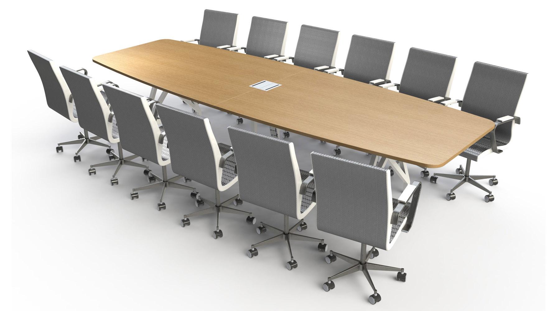 Kayak Conference Table 12 Zuri Furniture