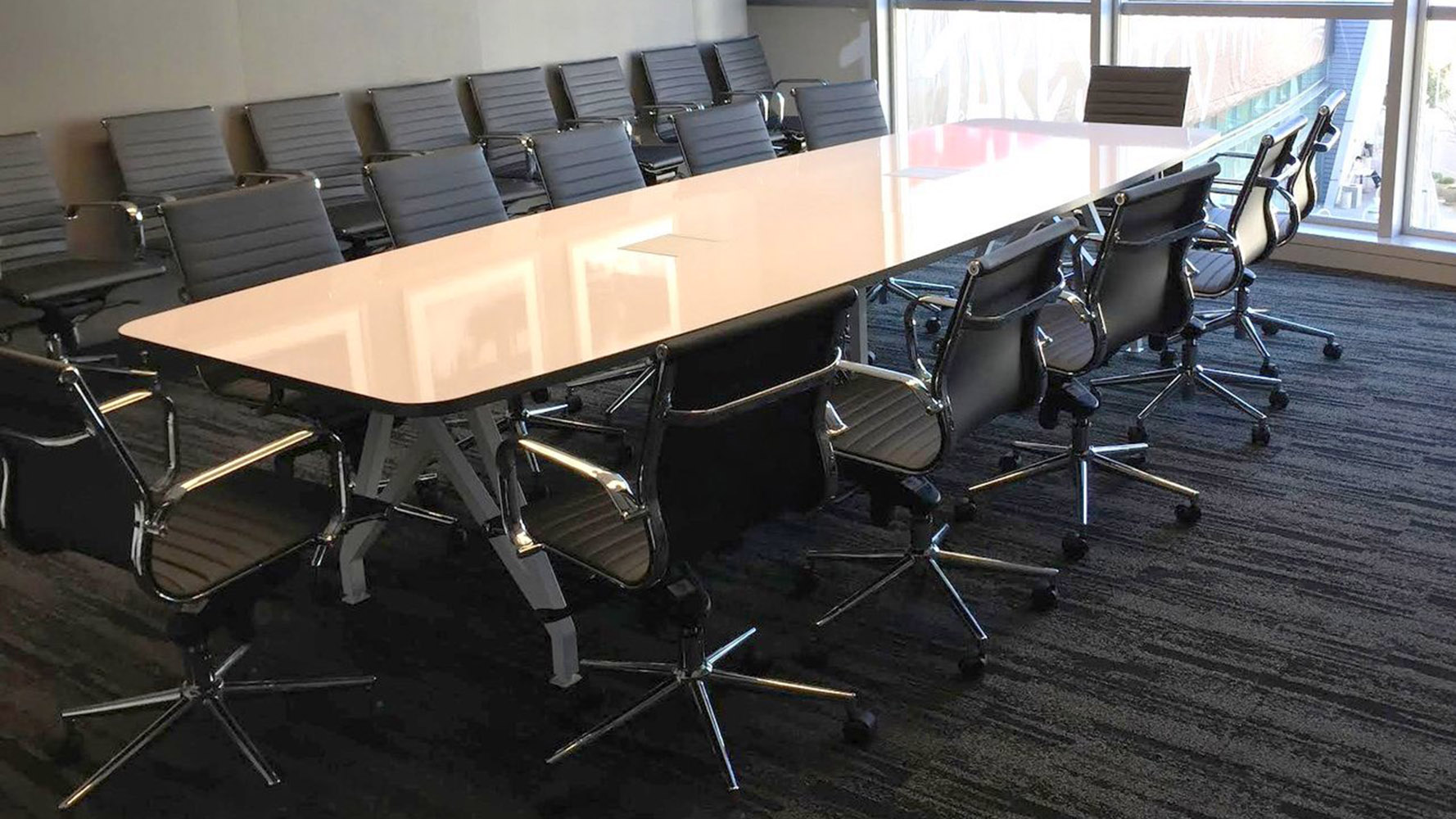 KAYAK Conference Table Zuri Furniture - Office source conference table