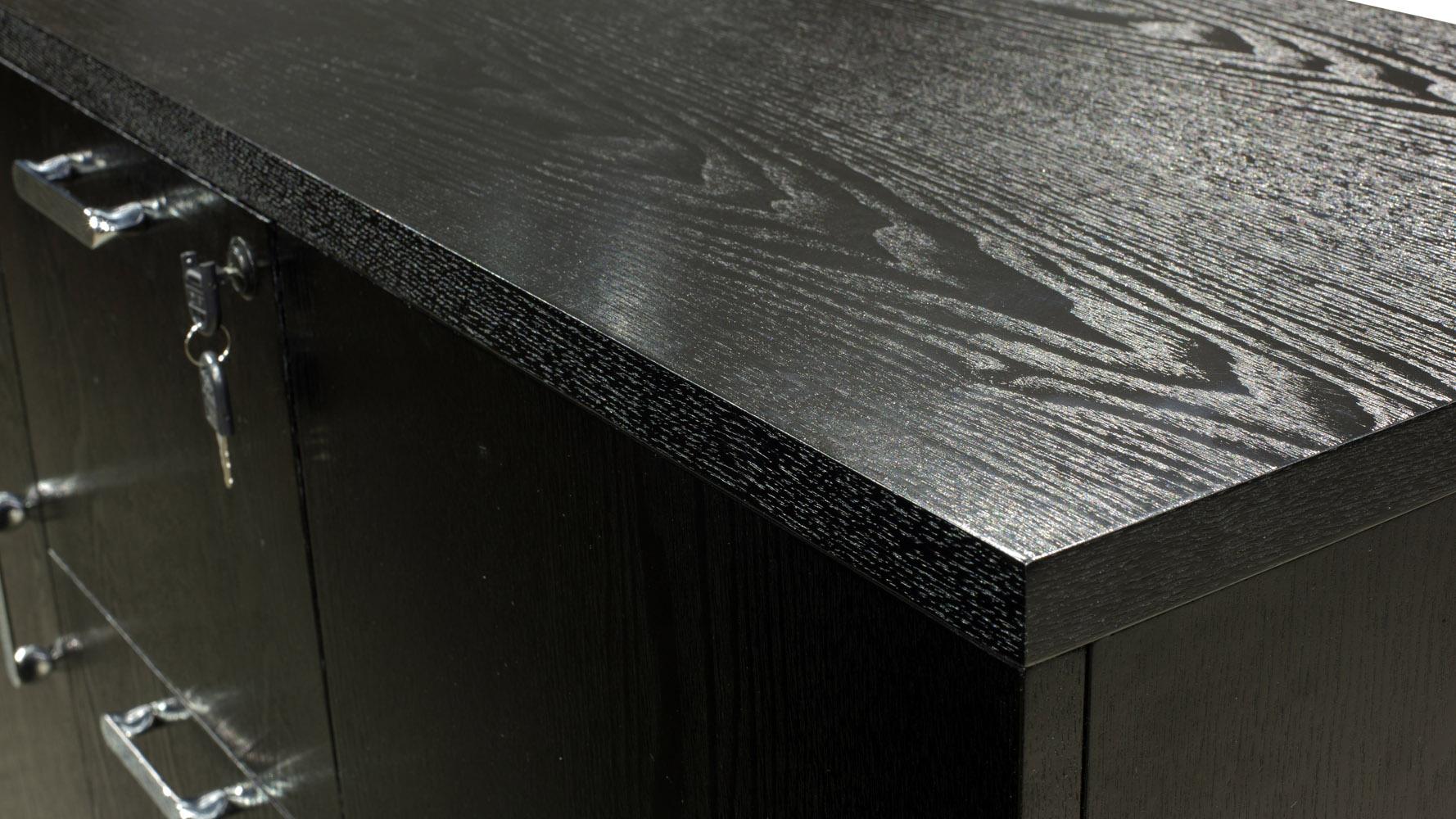 Cleveland Filing Side Cabinet Dark Oak
