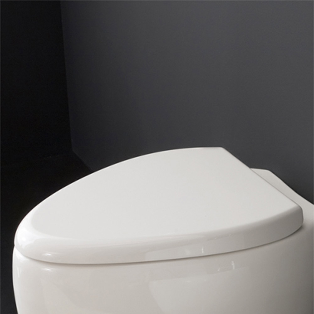 Modern Soft Closing Moai Toilet Seat Cover Zuri Furniture