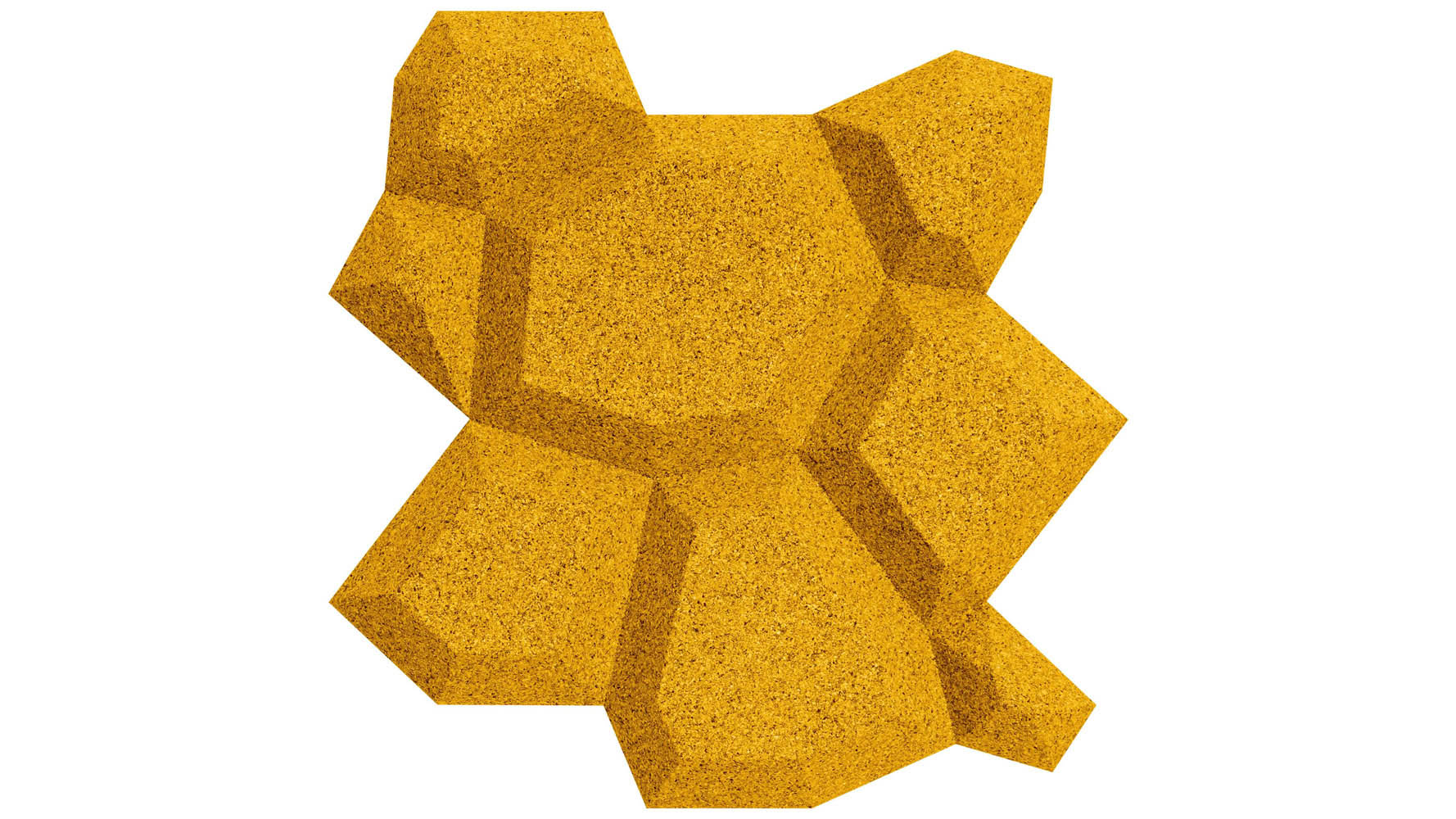 Modern Sustainable Beehive Organic Blocks Wall Design Sense 16 pc ...