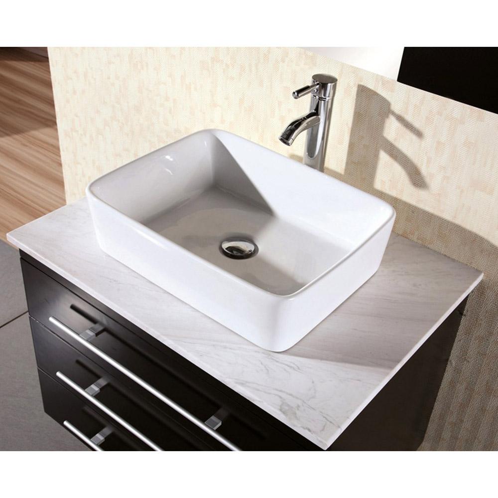 Talia 30 Quot Single Sink Vanity Set Zuri Furniture