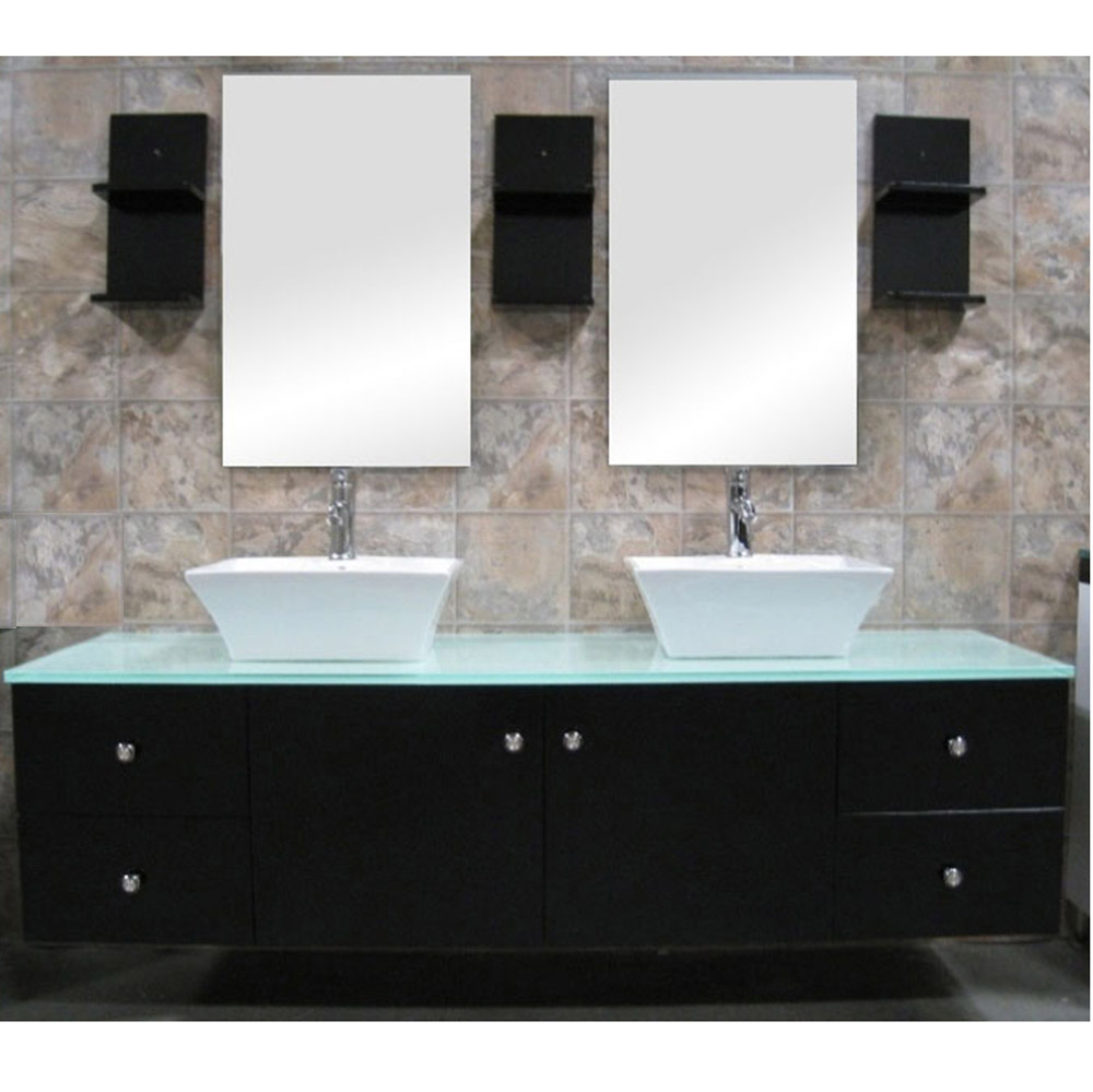 Taylor 61 Double Sink Vanity Set Zuri Furniture