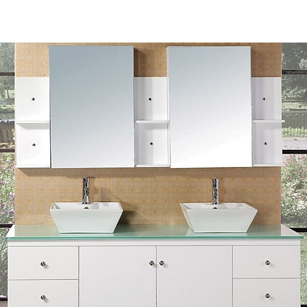 Taylor 72 Double Sink Vanity Set Zuri Furniture