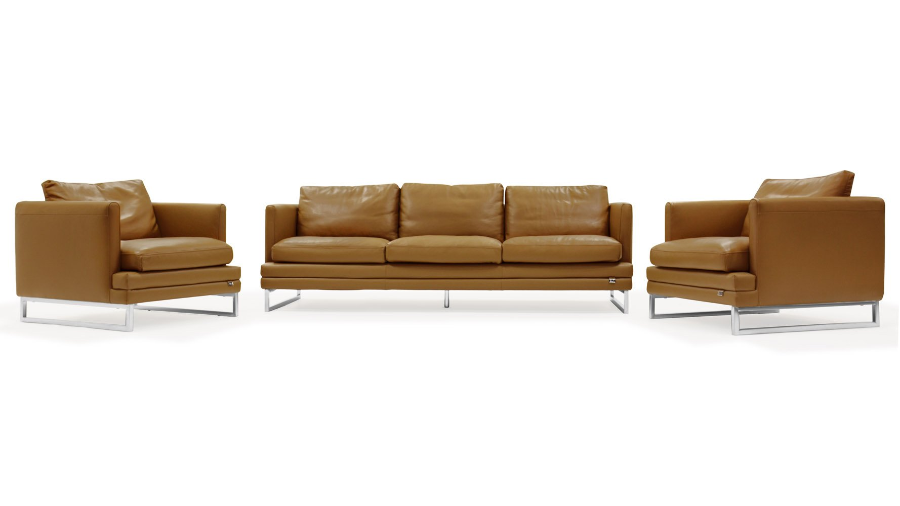Brando Sofa Set With 2 Armchairs Zuri Furniture