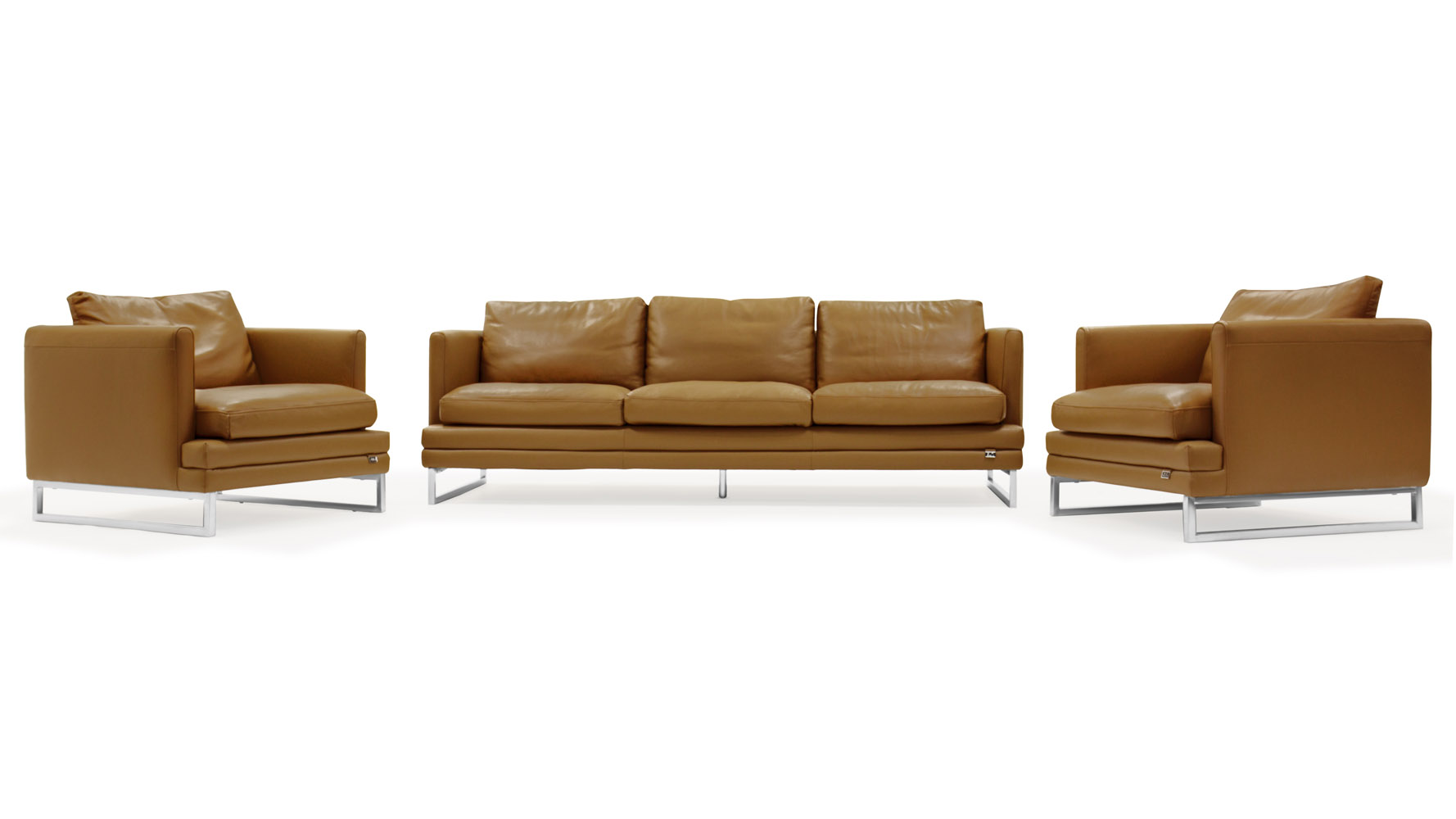 Modern sofa sets 25 latest sofa set designs for living for Contemporary sofa set