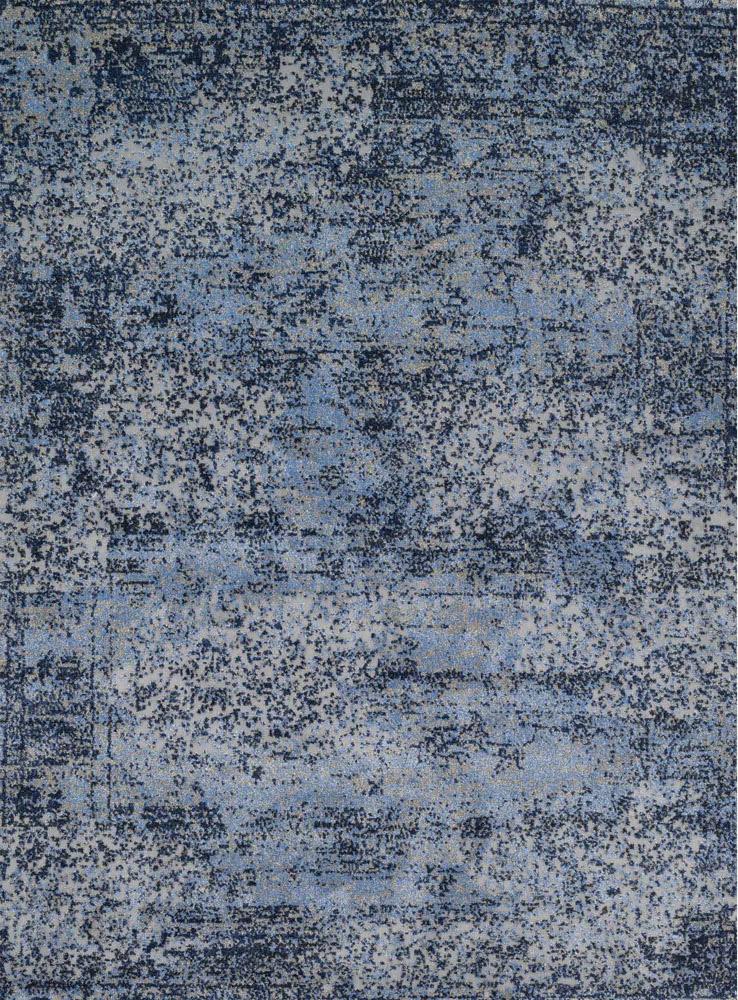 Valentin Blue and Grey Rug