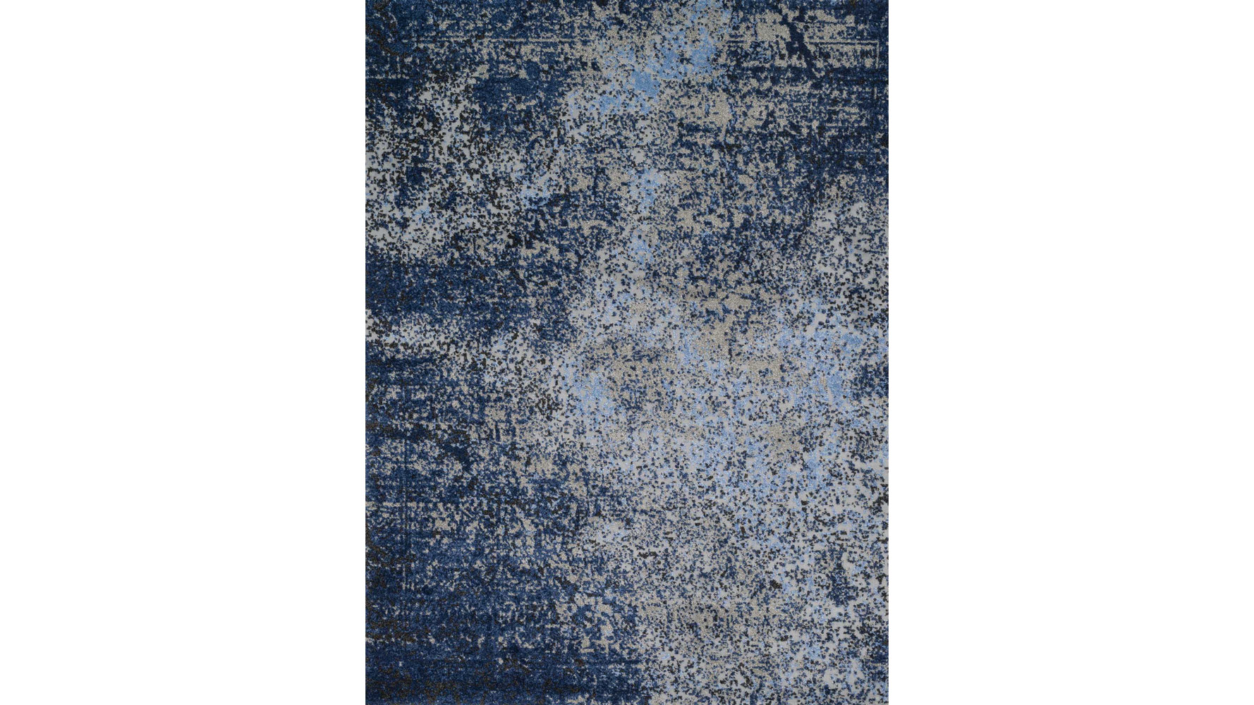 Valentin Grey And Navy Rug Zuri Furniture