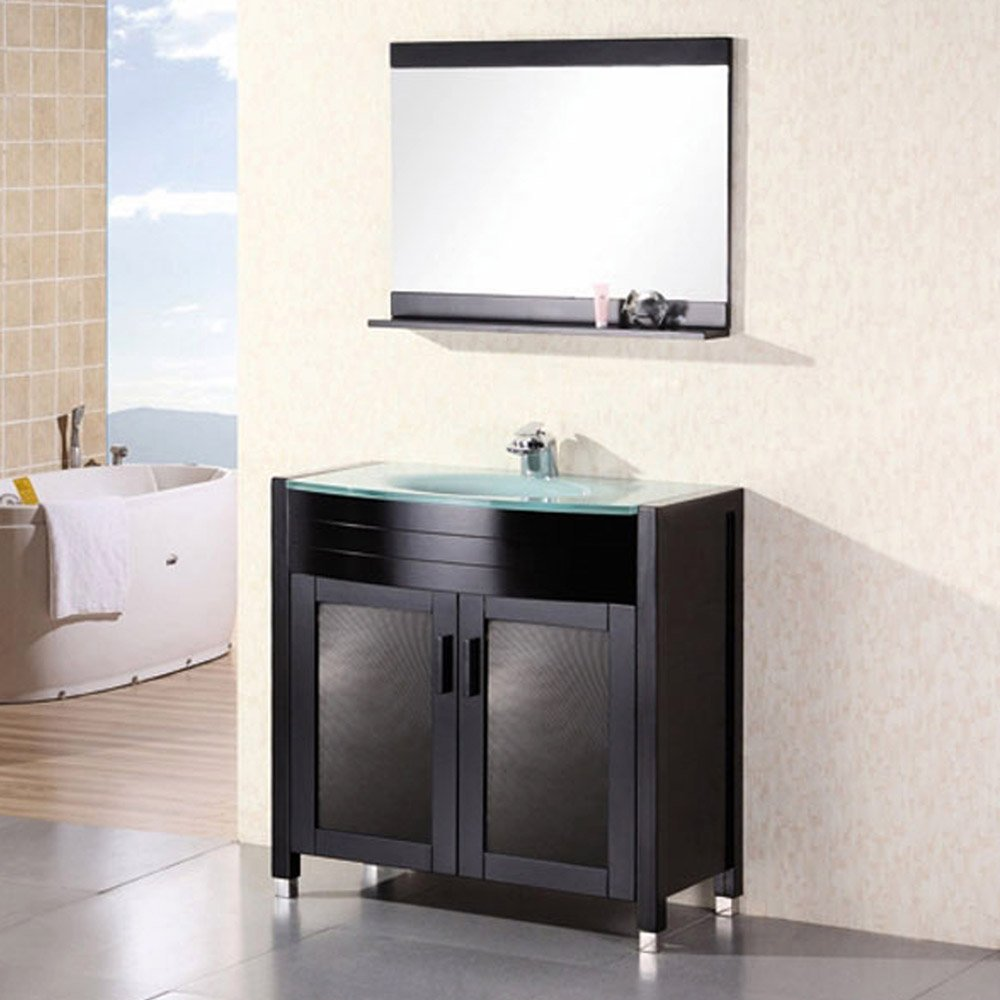 Walton 36 Single Sink Vanity Set Zuri Furniture