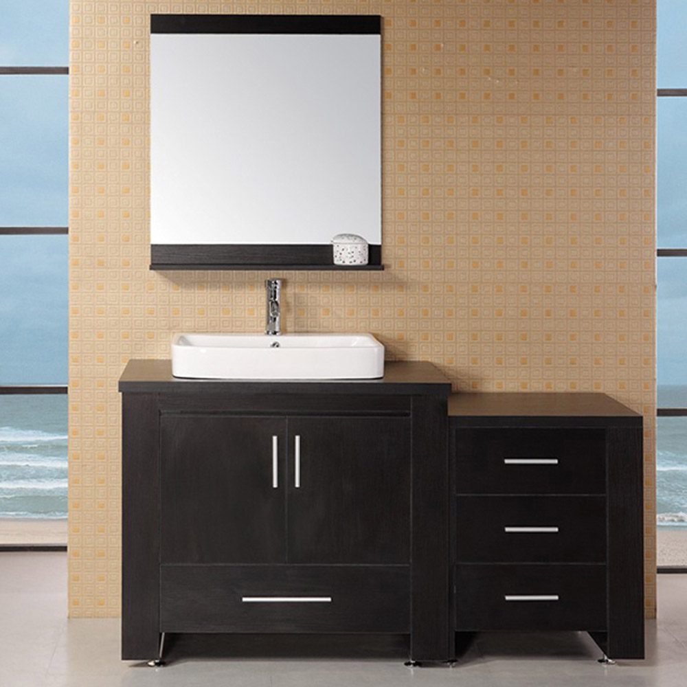 Weston 36 Quot Single Sink Vanity Set Zuri Furniture